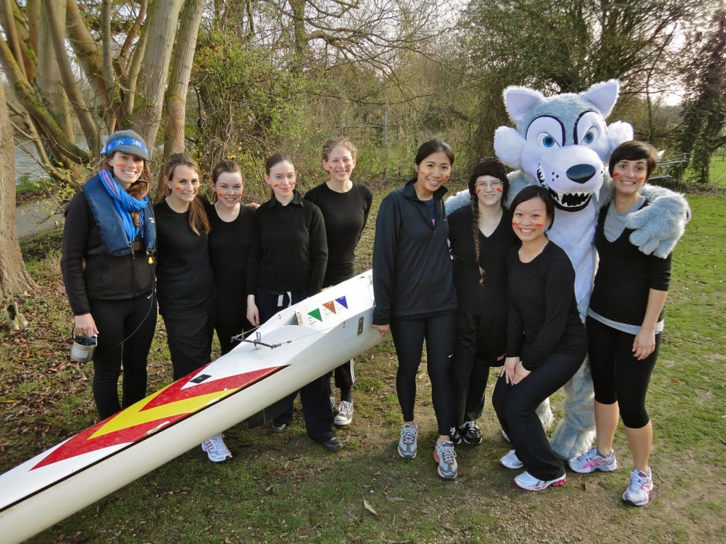 Women's Novice 'B' crew, Nephthys Regatta 2011
