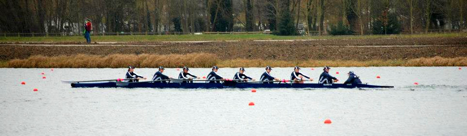 OUWLRC warming up at Dorney Lake.