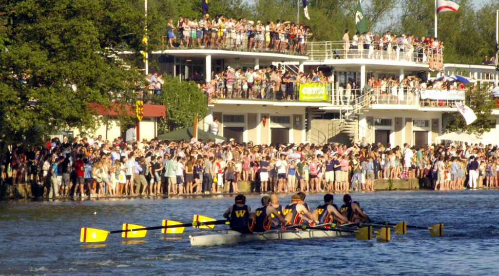 Wolfson men's first boat races in front of tens of thousands in Summer Eights 2012