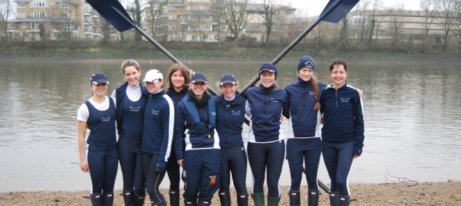 Three Wolfson Rowers in Tethys WeHORR VIII