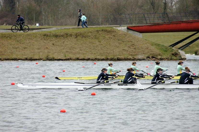 Oxford women defeat Cambridge (courtesy Trajan Przybylski)
