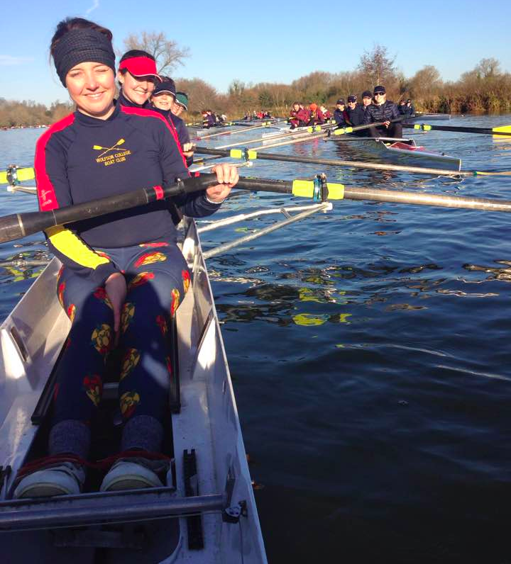 Both women's fours: WOO-Hammond in front and WOO-Zekoll behind
