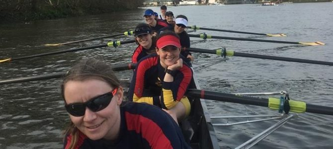 Women's Eights Head of the River Race 2017